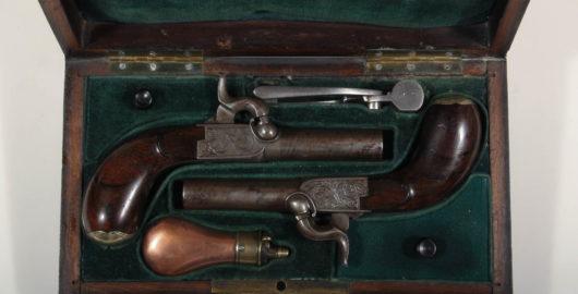 Pair of Pocketpistols in Case
