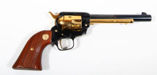 Revolver Colt Frontier Golden Spike