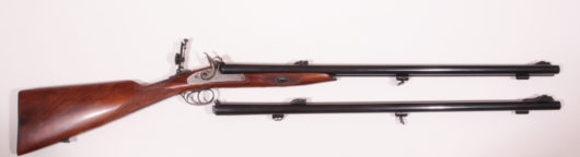 Doublebarrel Percussion Rifle Replica