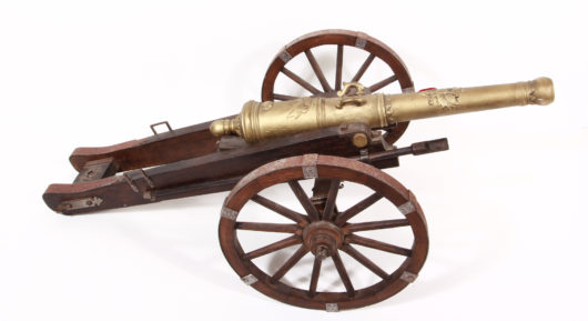 Model of a Cannon