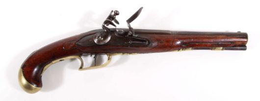 Flintlock Pistol Germany 1780