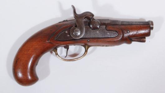 Percussion Travelling Pistol ca. 1750/1840