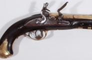 Flintlock Navy Officers Pistol Germany 1750