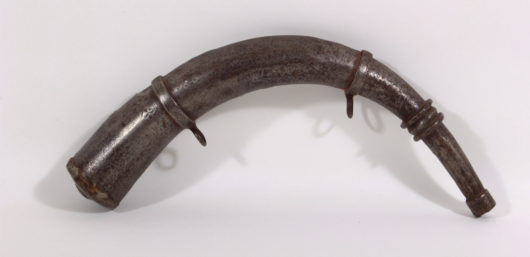 Powder Horn Iron about 1800