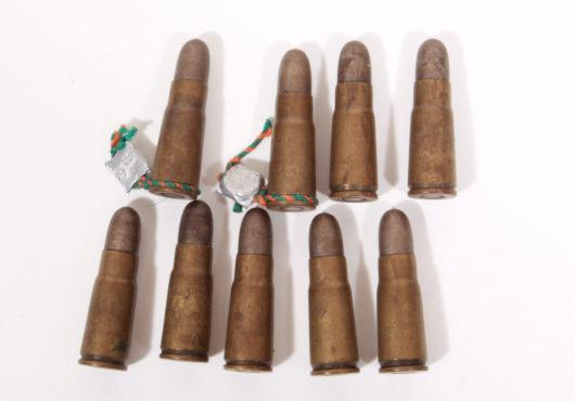 Ammunition Bergmann 6,5 mm