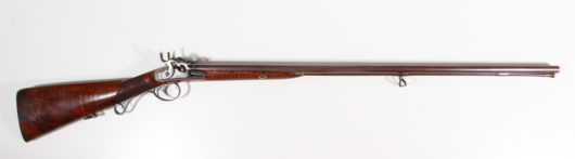 Percussion Doublebarrel Shotgun Manton London
