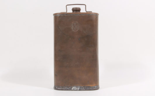 Military Drinking Bottle, probably Switzerland, mid-19th century