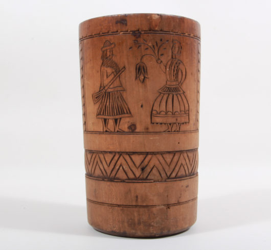 Wooden Mortar Austria/Hungaria about 1800