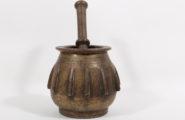 Brass rib mortar, Italy around 1650