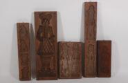 Speculum model made of beech wood