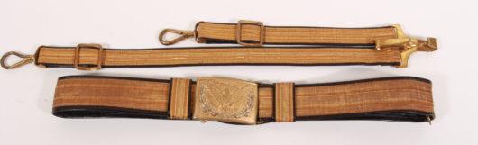 US Belt with Sword Hanger