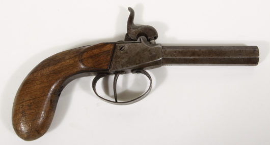 14227 - Percussion Pocketpistol Germany End of 19th Cent.