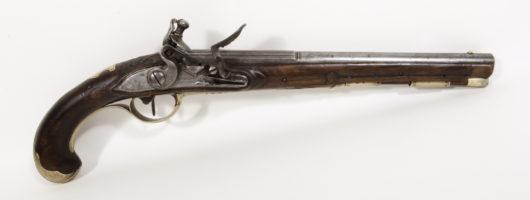Flintlockpistol Bernsdorfer in Ansbach app. 1780