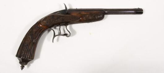 15947 - Salon- und Targetpistol, France 1865
