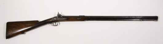 Single Barrel Doublerifle about 1850