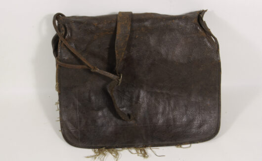 Big Leather Bag about 1850