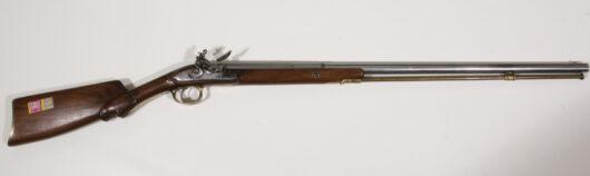 Flintlockgun probably France about 1810