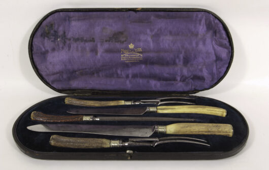Cutlery England about 1880 in Box