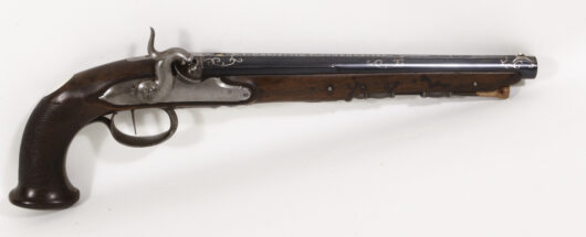 Percussionpistol Kuchenreuter about 1800